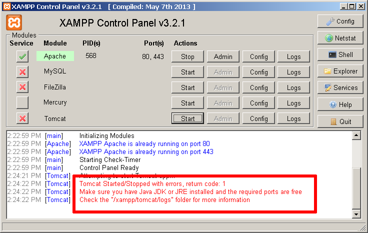 Configure and Use Apache Tomcat